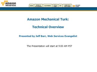 Mechanical Turk Presentation